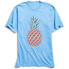 Pineapple T Shirt for Men Casual Summer TShirt Short Sleeve Special Custom T-Shirt Round Neck 100% Cotton Tops Drop Shipping