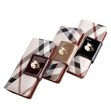 2017 arrival Brand Ms wallet female long section of the new zipper wallet fashion wallet women wallet card hand bag phone packag