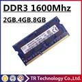 Hynix DDR3 4 gb 8 gb 2 gb 1600 mhz de Memória Sodimm PC3-12800S Laptop, Ram DDR3 4 gb 8 gb 1600 PC3-12800 Notebook, Memoria Ram 8 gb DDR3L