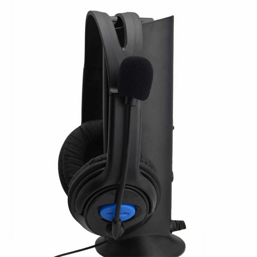 2019 السلكية سماعة الألعاب سماعة رأس بمايكروفون ل PS4 الكمبيوتر المحمول الهاتف دروبشيبينغ # G