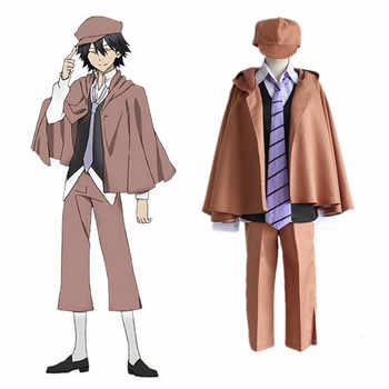 Anime Bungo Stray Dogs Detective Ranpo Edogawa Cosplay Costumes Vest & Cloak & Pants & Tie & Hat Uniform Suit Outfit - DISCOUNT ITEM  25% OFF All Category