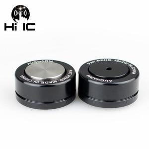 Image 4 - AMPLIFICADOR DE Audio HIFI de 4 Uds. Parlante, cuentas de cerámica, desplazamiento de bola de acero, amortiguador de pie, almohadilla de uñas, Base de vibración