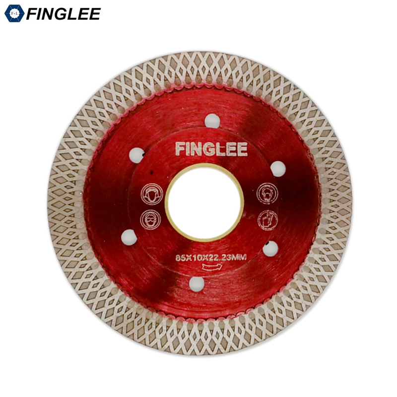 1Pc 3in/85mm Wave Style Diamond Saw Blade For Porcelain Tile Ceramic Dry Cutting Aggressive Disc Marble Granite Stone Saw Blade