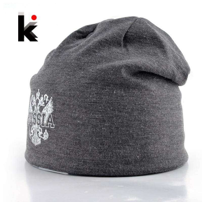 Νέο Φθινόπωρο Χειμώνας Άνδρες Ρωσία Designer Skullies & Beanies Casual Καπέλο Plus Βελούδινη καπέλο καπό Bonnet καπέλα για τους άνδρες Beanie Καπέλα Καπέλα