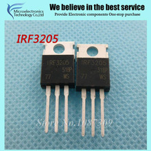 20pcs free shipping IRF3205 IRF3205PBF MOSFET MOSFT 55V 98A 8mOhm 97.3nC TO-220 new original(China)