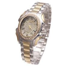 XQ001 Top Brand Luxury G&D Women Quartz Wristwatch Gold Stainless Steel Relojes Mujer Fashion Dress Watches Lady Bracelet Watch