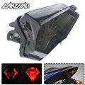 Мотоцикл светодиодный задний фонарь остановка хода тормозной сигнальный индикатор Лампа для YAMAHA MT07 FZ07 MT25 MT03 YZF R3 R25 2014-2018