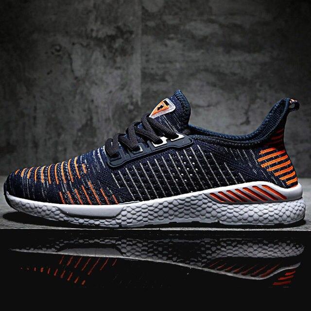 2019 Bahar Yeni erkek ayakkabısı Lac-up Erkekler rahat ayakkabılar Hafif Rahat Nefes Çift Yürüyüş Sneakers Feminino Zapatos