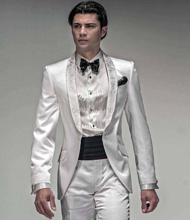 New Custom Made Groom Tuxedos Men