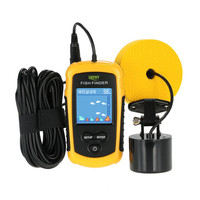 LUCKY FFC1108-1 Портативный Sonar ЖК-дисплей Рыболокаторы сигнализации 100 м рыболовные приманки эхолот Рыбалка finder