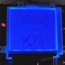 Branco, amarelo, vermelho, azul, rosa, verde diy backlight voltar iluminado módulo para gameboy original clássico gb console