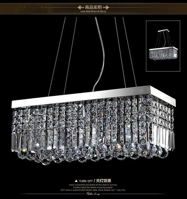 Moderne Edelstahl K9 Kristall Kronleuchter Beleuchtung Led Lampen Für Das Wohnzimmer  Kronleuchter Esszimmer Spannung