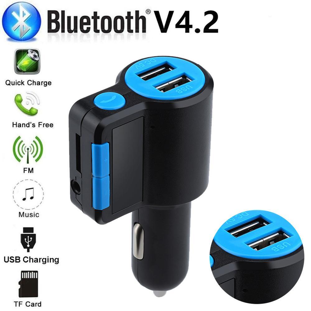 Handfree Car FM Transmitter Wireless Radio Adapter USB Charger Mp3 Player