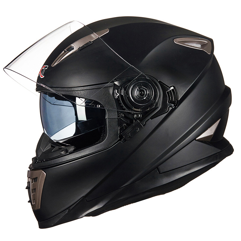 Double Lens Full Face Motorcycle Helmet With Sheld Lock System GXT 999 Motorbike Helmet Moto Casco