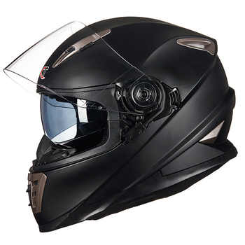 Double Lens full face motorcycle helmet with Sheld lock system GXT 999 motorbike helmet moto casco - DISCOUNT ITEM  29% OFF All Category