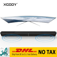 XGODY S LP09 Powerful Home Theater Soundbar for TV Subwoofer Bluetooth Wireless Speaker Coaxial Aux In Optical TF Card 4 Speaker