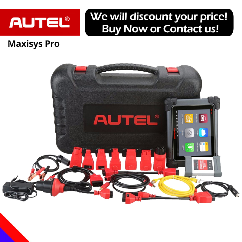 Autel Maxisys Pro MS908P Automotive Diagnostic Scanner With ECU Coding and J2534 programming (Same function as Maxisys Elite)-in Engine Analyzer from Automobiles & Motorcycles