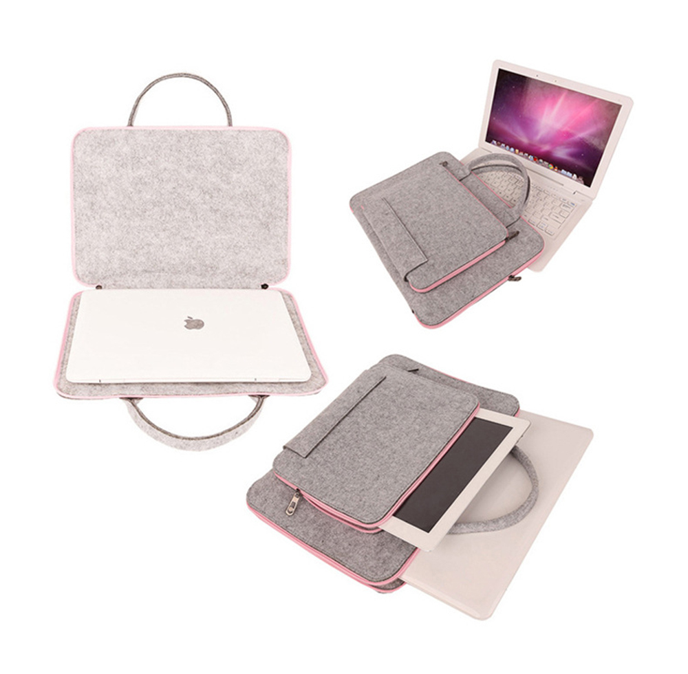 Gmilli Wool Felt Casual 17 16 15 12 11 inch Laptoptas Notebook - Notebook accessoires - Foto 2