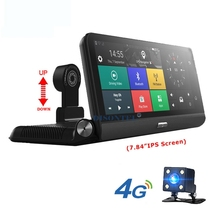 7 84 Touch 4G Android wifi GPS Full HD 1080P Video Recorder Dual Lens Registrar Dash