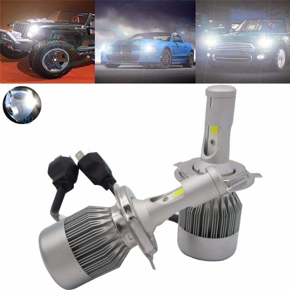 ФОТО Car Automotive Spevert H4 9003 LED Car Headlight Bulb Hi-Lo Beam Headlight Kit  Headlamp Bulbs 110W 20000LM 6000K 12V Waterproof