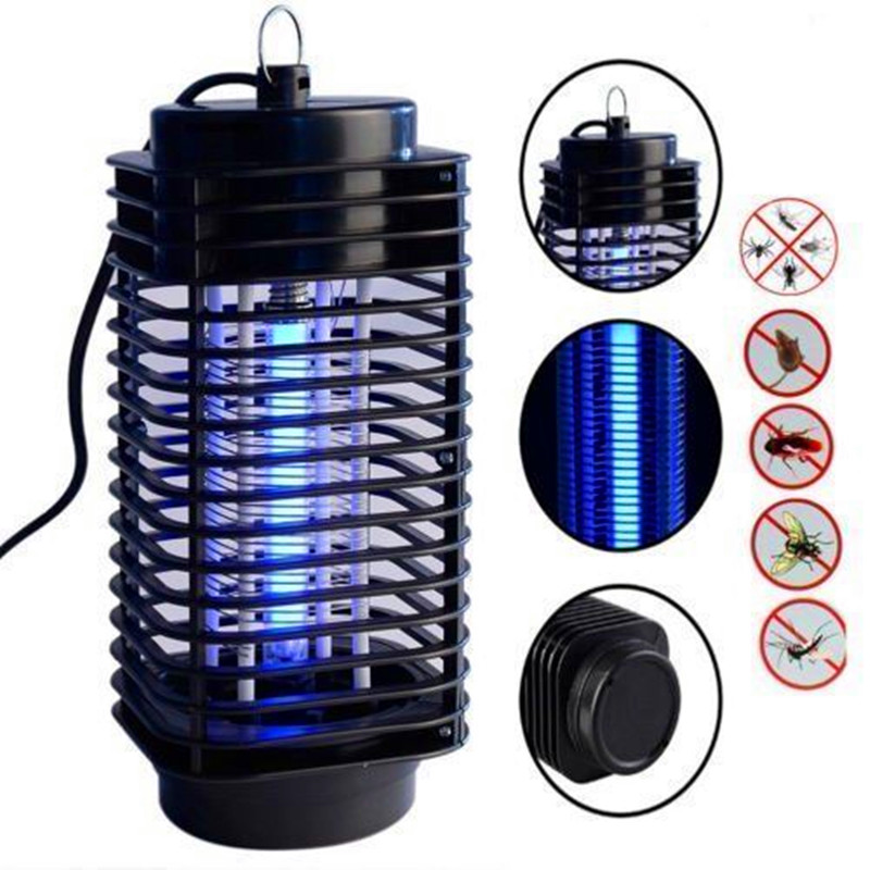 DOXINGYE Summer 110V -240V Electric Mosquito Fly Bug Insect Zapper Killer With Trap Lamp Pest Control Home Mosquito Repellent