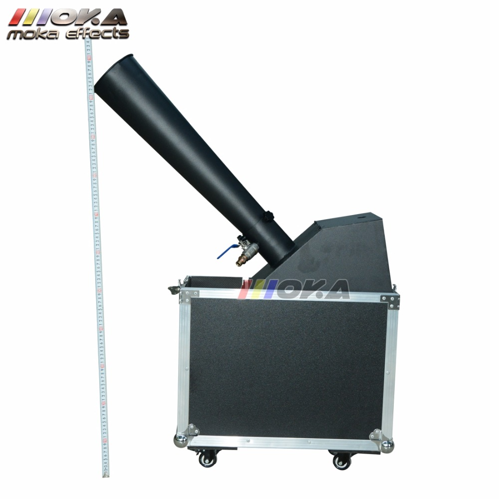 Image 5 - 1pcs/lot stage co2 confetti machine stage effect confetti cannon hand control co2 blaster jet 10m Flight case packing-in Stage Lighting Effect from Lights & Lighting