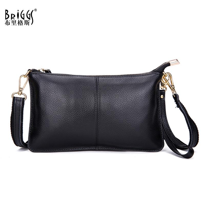 MATCHANT Simple Retro Buckle Chain Straps Square Leather Shoulder Bag Messenger Bag Color : Black 1
