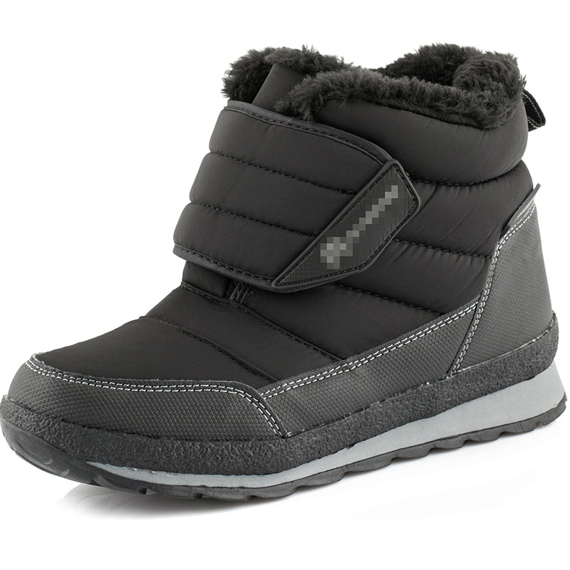 Size 30-38 Kids Boots black winter Boys Girls Boots Children Autumn Winter Shoes Warm  Snow  Boots kids boots 2016 winter warm shoes children s casual shoes boys comfort snow boots boy casual boots size 26 37