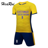 Men S Football Training Clothes Soccer Jersey Customize De Futbol DIY Blank Number Name Youth Maillot