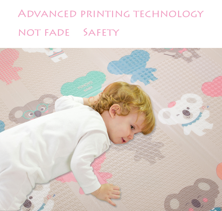 HTB1DXfWbh2rK1RkSnhJq6ykdpXaA Infant Shining Foldable Baby Play Mat Thickened Tapete Infantil Home Baby Room Puzzle Mat  XPE 150X200CM Splicing 1CM Thickness
