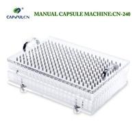 CapsulCN240 Size 1 Encapsulator Manual Capsule Filler Capsule Filling Machine Capsule Capper Encapsulating Machines