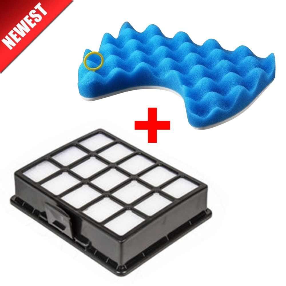 Aspirador de pó peças de reposição Kit Conjunto De Filtros E Esponja do Filtro do filtro para samsung DJ97-00492A SC6520 SC6530/40/50/60/70/80/90