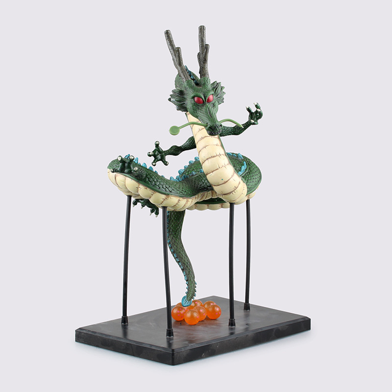 Huong EMS Anime Cartoon Dragon Ball Z 34CM ShenRon ShenLong PVC Action Figure Brinquedos Christmas Gift Collectible Model Toy huong anime slam dunk 24cm number 11 rukawa kaede pvc action figure collectible toy model brinquedos christmas gift