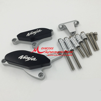 CNC Crankcase Frame Sliders For Kawasaki ZX10R ZX 10R 2008 2009 2010 2011 2012 Engine Stator Guard Protector Crash Pad