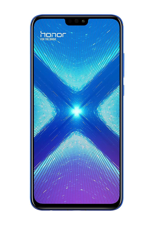 Huawei Honor 8X, bande 4G/LTE/WiFi, double SIM, interne 128 go de Memoria, 4 go de Ram, 3750 mAh, écran 16,5 cm (