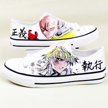 One Punch Man Low Top Shoes