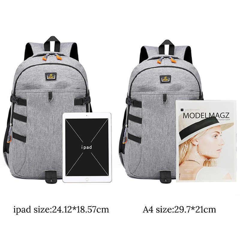 Mochila para ordenador portátil Oxford impermeable de 14 pulgadas, mochila para hombres para adolescentes, mochila de viaje para mujeres, mochila Escolar para hombres