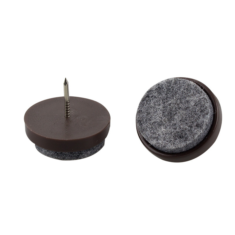 14/17/20/22/24/28mm Rubber Pads For Chair Legs Table Chair Feet Legs Glides Skid Tile Felt Pad Floor Furniture Nail Protectors