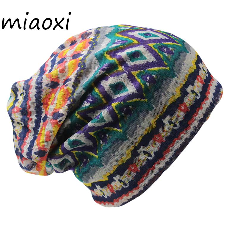 miaoxi Top Sale Casual Autumn Winter Hat Cap For Women Warm Scarf Women's Beanies Skullies Ladies Knit Casual Caps Free Shipping(China)