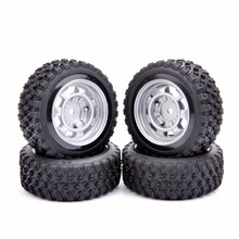 12mm Hex Rally Car Tires And Wheel Model Toys Accessory For 1/10 Rally Rubber RC Car Model Parts