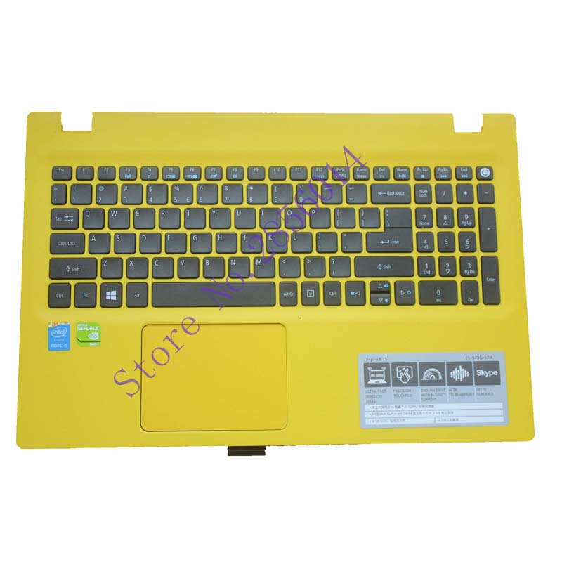 US Laptop keyboard For ACER Aspire E5-573 E5-573T E5-573TG E5-573G E5-722 E15 E5-582P 507H 56AV 507H 54G6 F5-572 With c case