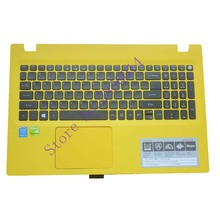 US Laptop keyboard For ACER Aspire E5-573 E5-573T E5-573TG E5-573G E5-722 E15 E5-582P 507H 56AV 507H 54G6 F5-572 With c case(China)