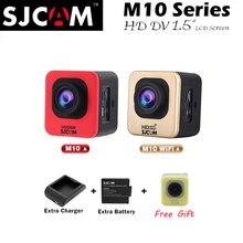 Update SJCAM M10 SJ 4000 Cube  M10 WIFI &M 10 Plus 2K Video Resolution Mini Action Cameras 1080P Waterproof Wi-fi Sports Cam DV