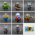 New anime action figures minions cosplay transformation toy optimus prime lockdown drift pvc model toy disable me minions doll