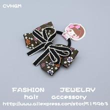CYHGM kids haar hair accessories for girls opaska kwiatki schrunchies women doceira volta as aulas elastic bands A10