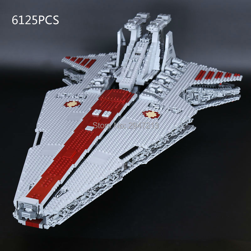 compatible LegoINGlys Star Wars series Building Blocks UCS Republic Cruiser MOC Model leprosy figures brick toys for Children hot compatible legoinglys star wars series building blocks imperial shuttle warships with figures brick toys for children gift