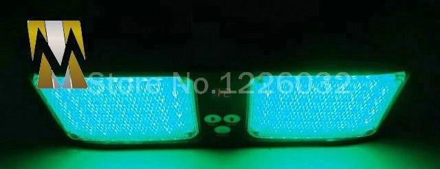86 led super bright car truck visor strobe flash light panel 2x43 led 6 optional colors red blue amber white green 12 modesin car light assembly from