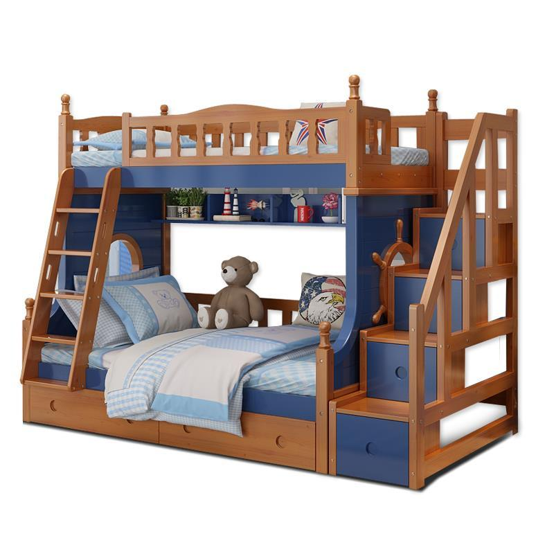 Single Totoro Tempat Tidur Tingkat Meble Mobili Room Literas Madera Cama bedroom Furniture Mueble De Dormitorio Double Bunk Bed