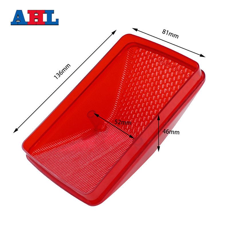 For KAWASAKI KLX250 KDX250 KLX KDX 250 For HONDA XR250 XR 250 Tail Light Cover Rear Brake Light Tail Stop Lamp Case Cap