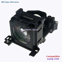 цена на Replacement Projector lamp with housing DT00757 for HITACHI CP-X251 CP-X256 ED-X10 ED-X1092 ED-X12 ED-X15 ED-X20/X22 Projectors